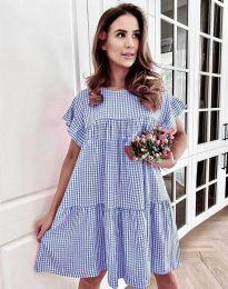 Obleka - koda 6111 - modra