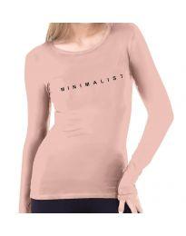 Bluza - koda 3337  - 1 - roza