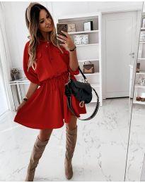 Obleka - koda 8586 - rdeča