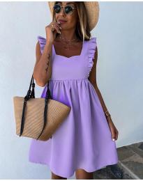 Obleka - koda 818 - vijolična