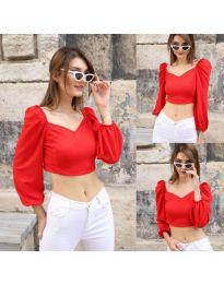 Bluza - koda 3099 - 2 - rdeča