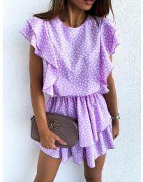 Obleka - koda 7740 - vijolična