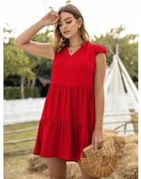 Obleka - koda 696 - rdeča