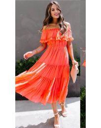 Obleka - koda 699 - oranžna