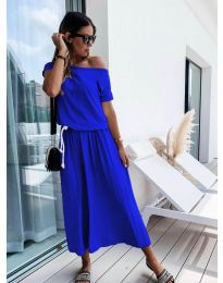 Obleka - koda 4151 - modrá
