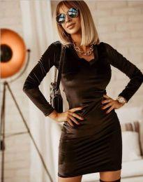 Obleka - koda 4161 - 1 - črna
