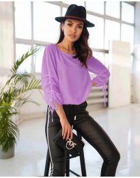 Bluza - koda 5165 - vijolična