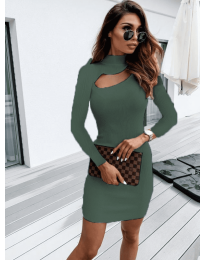 Obleka - koda 883 - olivna