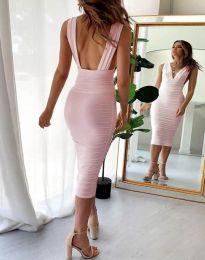 Obleka - koda 1389 - 1 - roza