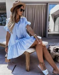 Obleka - koda 6144 - svetlo modra