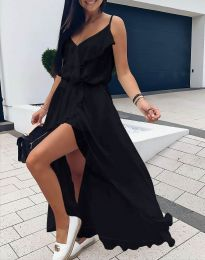 Obleka - koda 6432 - črna