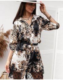 Obleka - koda 3635 - 1 - večbarvna