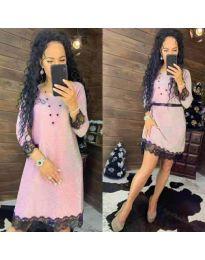 Obleka - koda 1426 - roza