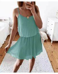 Obleka - koda 8596 - menta