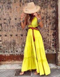 Obleka - koda 0817 - rumena