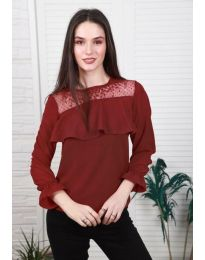 Bluza - koda 0628 - 3 - bordo