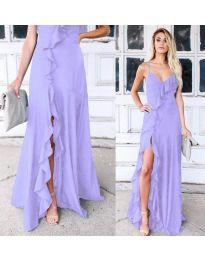 Obleka - koda 4488 - vijolična