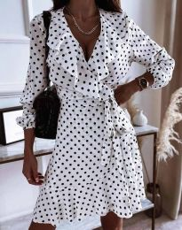 Obleka - koda 0438 - bela