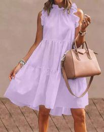 Obleka - koda 2663 - vijolična