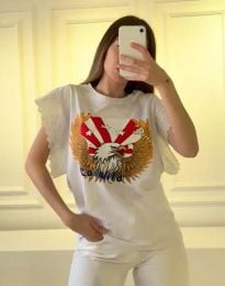 Majica - koda 1436 - 1 - bela