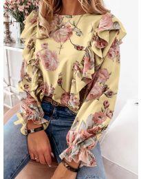 Bluza - koda 4256 - rumena