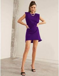 Obleka - koda 625 - vijolična
