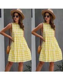 Obleka - koda 2123 - rumena