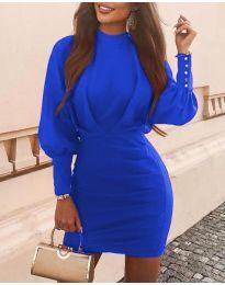 Obleka - koda 4016 - modra
