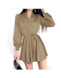 Obleka - koda 8754 - bež