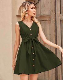 Obleka - koda 8188 - olivna