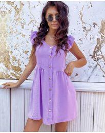 Obleka - koda 3033 - vijolična