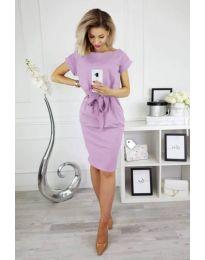 Obleka - koda 774 - svetlo vijolična