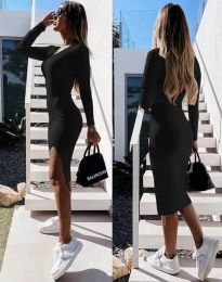 Obleka - koda 8291 - črna