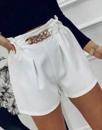 Kratke hlače - koda 2085 - bela