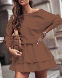 Obleka - koda 0525 - rjava