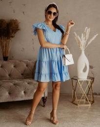 Obleka - koda 6224 - svetlo modra