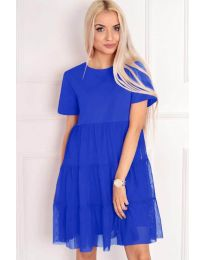 Obleka - koda 417 - modrá