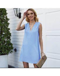 Obleka - koda 1429 - svetlo modra