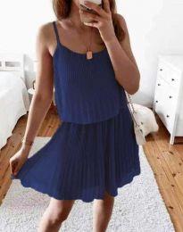 Obleka - koda 8596 - temno modra