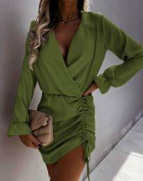 Obleka - koda 4271 - olivna