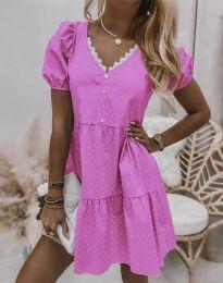 Obleka - koda 8292 - roza
