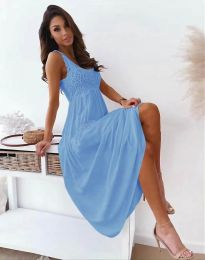 Obleka - koda 4807 - svetlo modra