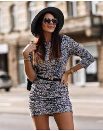 Obleka - koda 326 - 3 - večbarvna