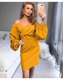 Obleka - koda 6761 - rumena