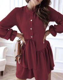 Obleka - koda 2829 - bordo