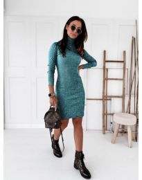 Obleka - koda 5696 - modra