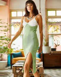Obleka - koda 1036 - svetlo zelena