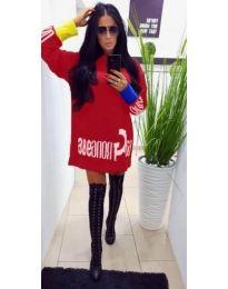 Obleka - koda 294 - rdeča