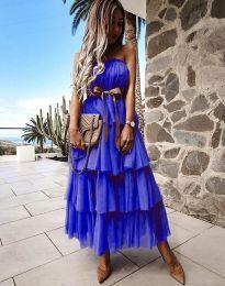 Obleka - koda 1543 - temno modra