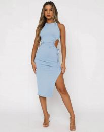Obleka - koda 11937 - svetlo modra